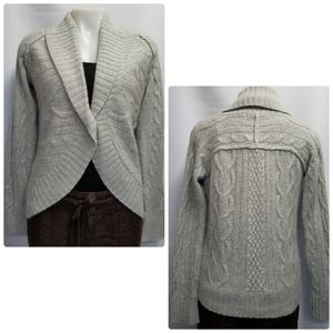HP | Eddie Bauer NWOT Cable Knit Cardigan Sweater